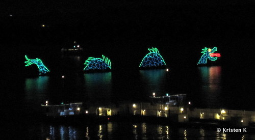 Sea Serpent in the Electrical Water Pageant