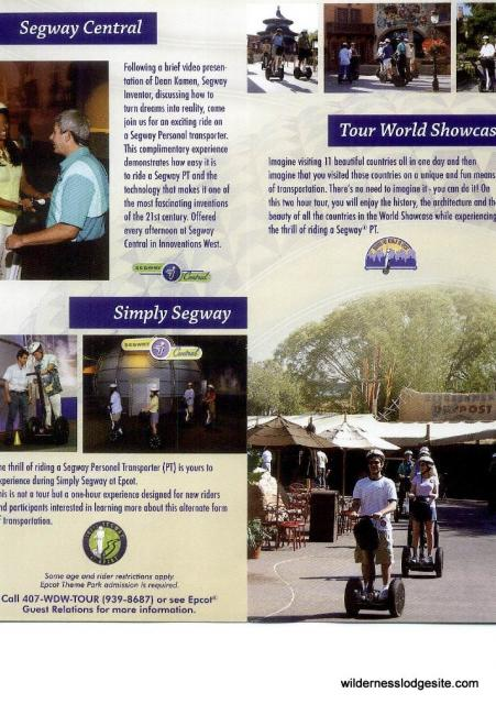 Segway Tours Brochure Page 1