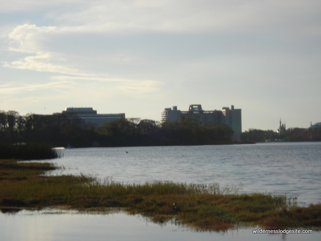 View of Castle and Contemporary from Nature Trail