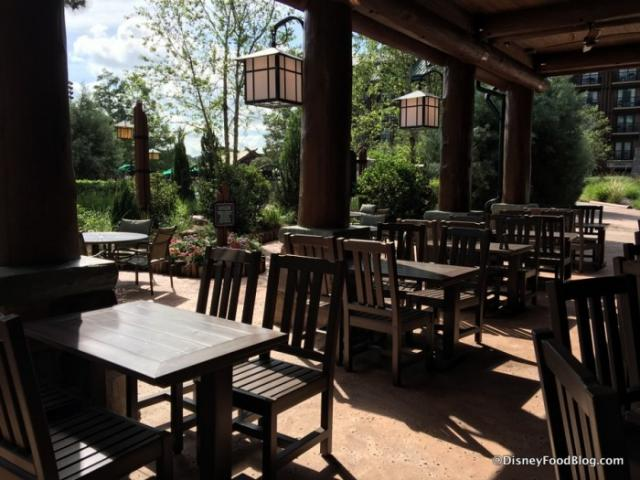 Roaring Fork outdoor seating 2017